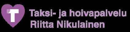 Taksi- ja hoivapalvelu Riitta Nikulainen Logo